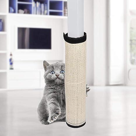 cuckoo-X - Almohadilla rascadora para Gatos Hecha de sisal, Protector de Muebles para