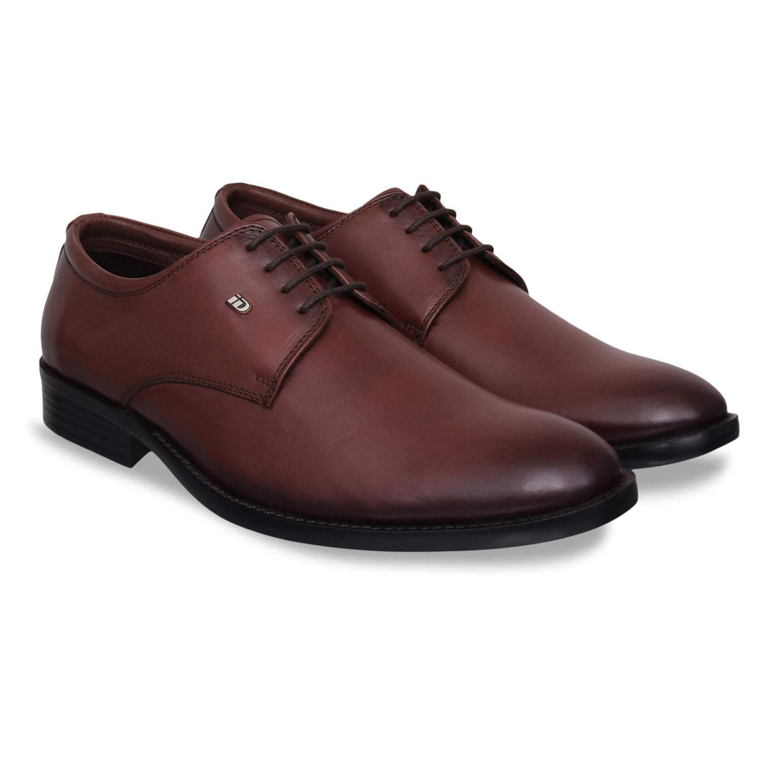 Genuine Leather Formal Shoes (Brown