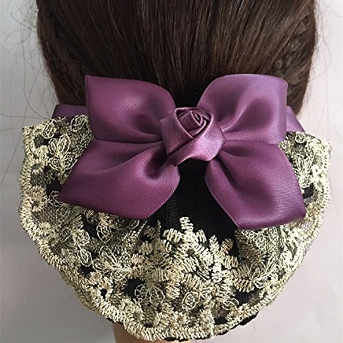 Professional head flower hair string bag mobile bank nurse hotel dance dish made invisible nets hair accessories for women girl lady