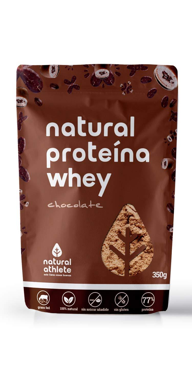 Proteína Whey Frambuesa y Coco - Natural Athlete - 85% Proteína aislada de leche de vacas de pasto - Grass-fed, 100% Natural - BIO - Sin Gluten - ...