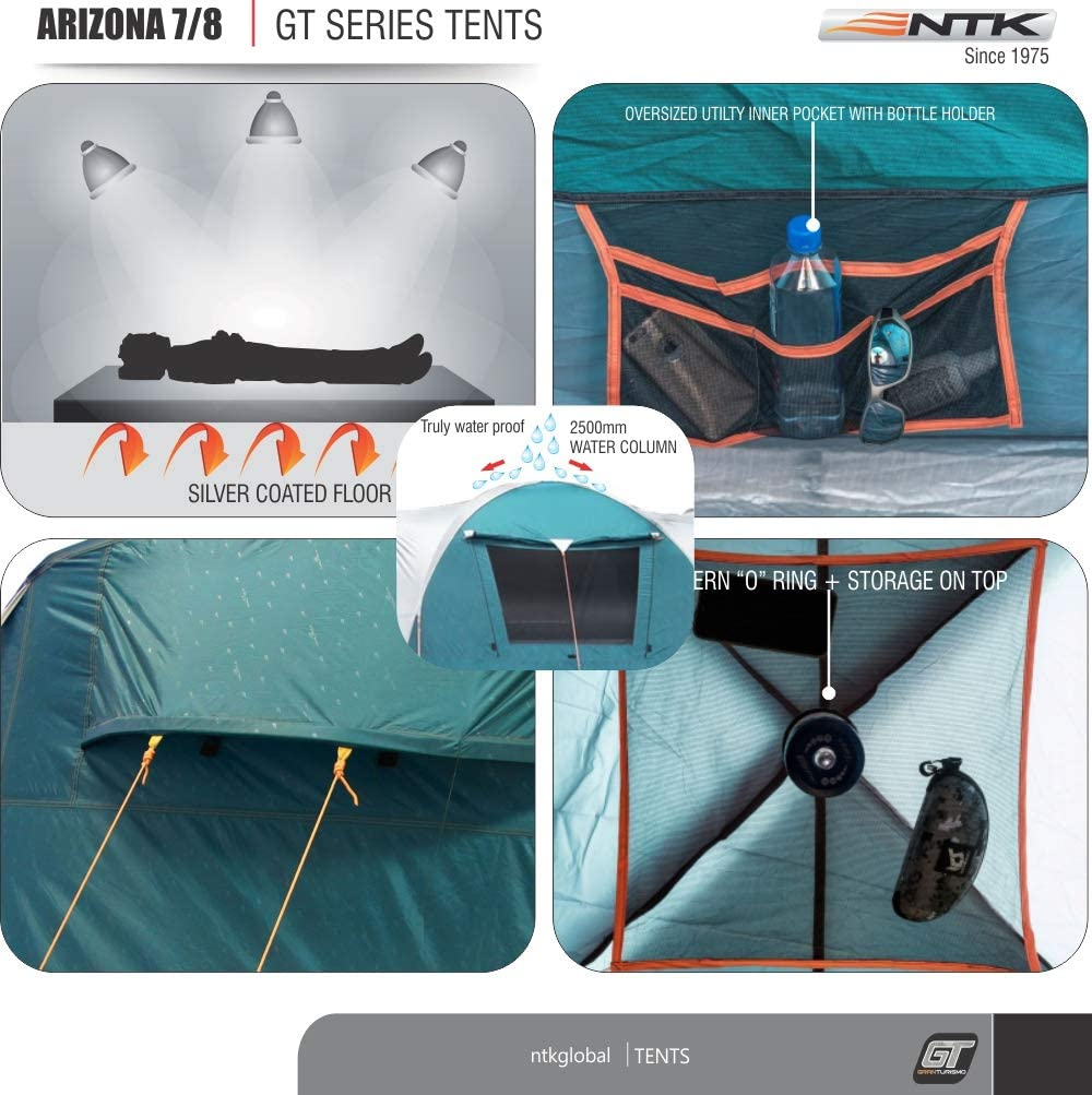 7 to 8 Person Tent