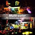 Onforu 4 Pack 20W RGB LED Flood Lights with Remote Control, IP66 Waterproof Dimmable Color Changing Floodlight, 16 Colors 4 Modes Wall Washer Light, Indoor Outdoor Decorative Garden Landscape Lighting