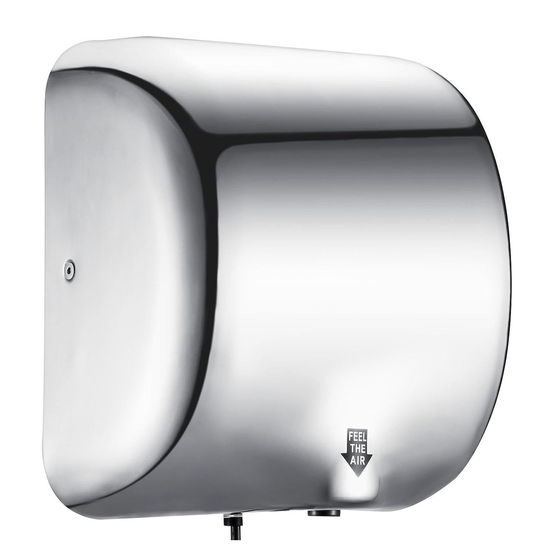 CiaoVasco 1800W Asciugamani Elettrico Professionale Asciugamani Elettrico Di Fascia Alta In Acciaio Inox 1200mm Di Sensor Asciugamani Elettrica Ad Aria Calda