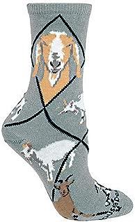 product image for Wheel House Designs Goat Argyle Socks (Shoe size 9-12)