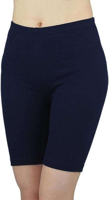 Women Girls Lycra Cotton Cycling//Dancing Shorts Leggings Ladies Casual Shorts