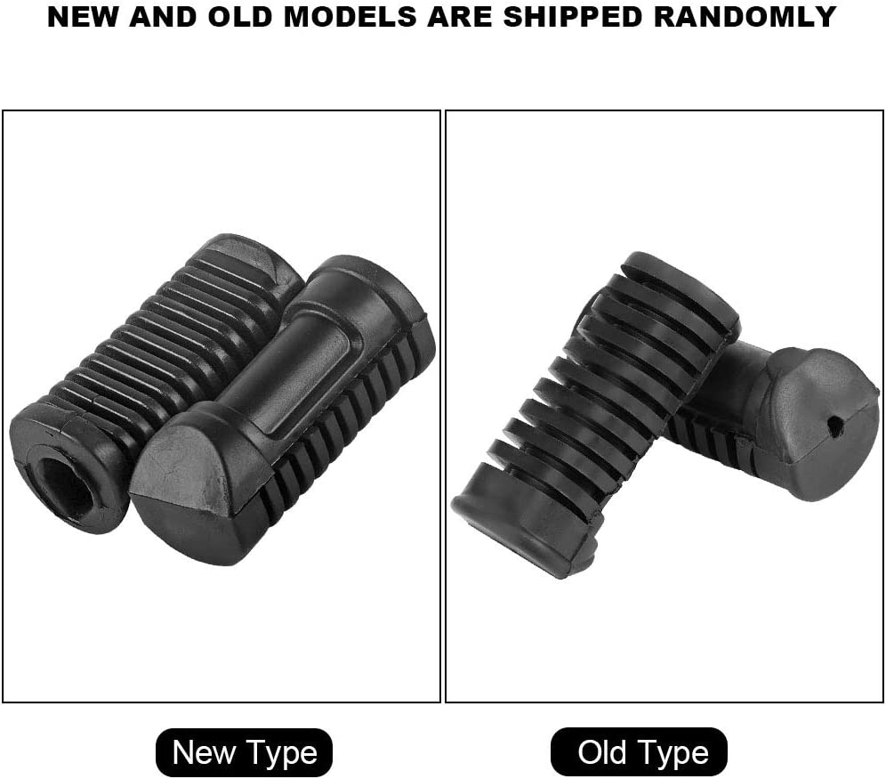 reposapi/és delanteros cubierta de agarre para Hon-da 125cc CG 125 reposapi/és almohadilla de goma placa Pedal estriberas Reposapi/és para motocicleta