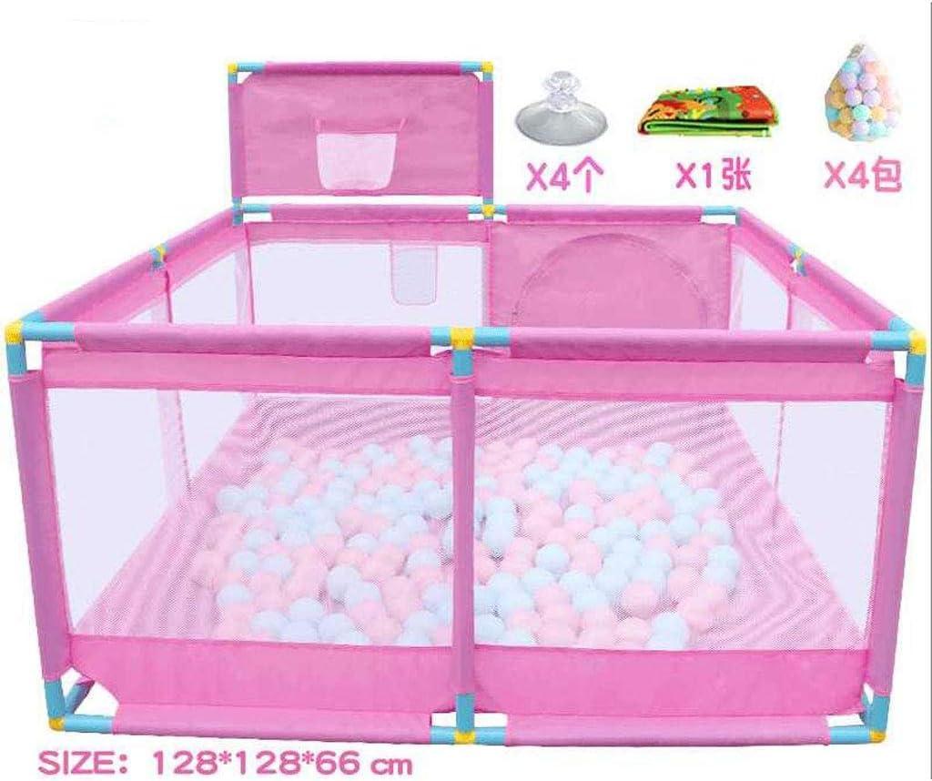 子供の安全フェンス 屋内家庭の子供の遊びフェンスフェンスベビー幼児クロールマットフェンス布ボールプールのおもちゃシューティングフェンス (色 : Suit 2-2)