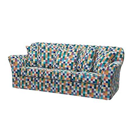 Soferia - IKEA TOMELILLA Funda para sofá de 3 plazas, Mozaik ...