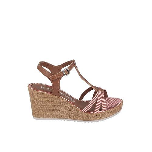 6e0439ab3d46a4 Tamaris 1-1-28380-22 Damen Sandalen  Amazon.de  Schuhe   Handtaschen