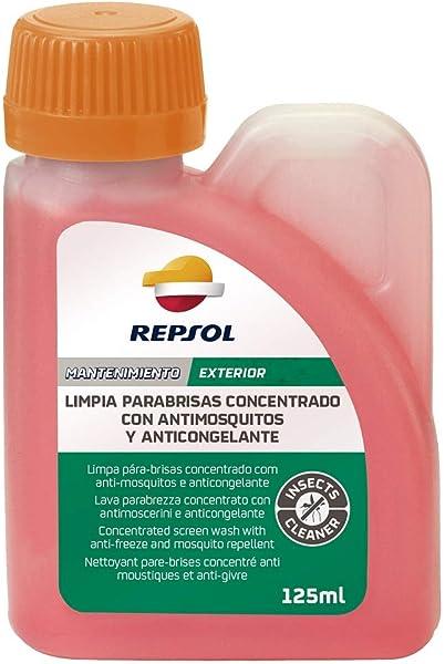 Repsol RP706C83 Limpia Parabrisas Concentrado Antimosquitos y Anticongelante, 125 ml: Amazon.es: Coche y moto