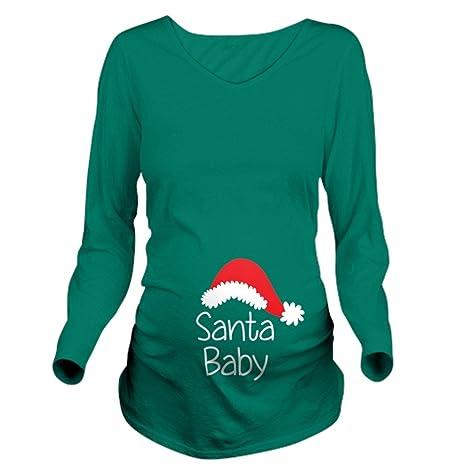 Santa Baby Maternity T Shirt