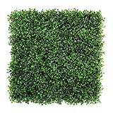ULAND 6 Piece Artificial Boxwood Hedges, Privacy Fence Screen for Outdoor, Wall Home Decoration For Sale