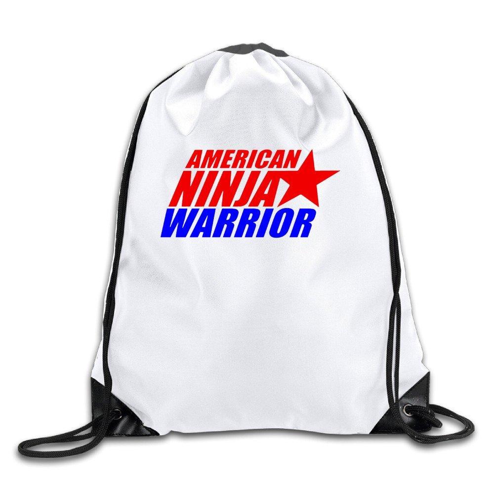 American Ninja Warrior competencia blanco cordón mochila ...