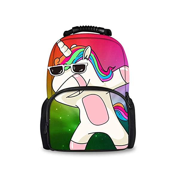 417d8ca3bf73 Amazon.com: JACINTAN Cool Hedgehog Surfing Big Capacity Backpacks ...