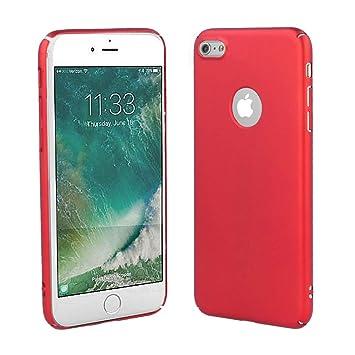Electrónica Rey - Funda Carcasa Aluminio Rojo para iPhone 6 Plus - 6S Plus, Elegante y Ligera, Alta Resistencia