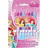 Disney Princess Cake Topper & Birthday Candle Set