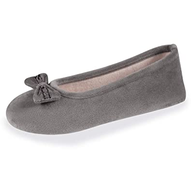 d1758a80f29 Isotoner Chaussons Ballerines Femme Well nud Dentelle  Amazon.fr ...