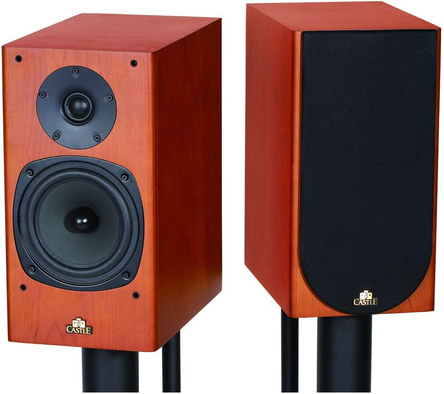 Castle Knight-2 Bookshelf Speaker Cherry (Pair): Amazon.es: Electrónica