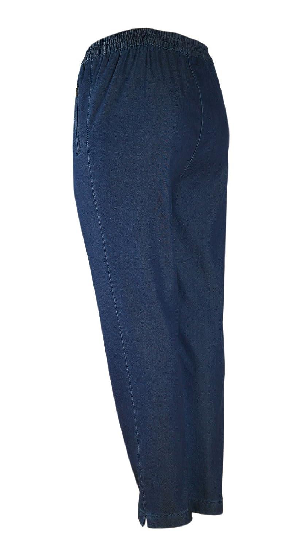 8cb48ca16f1ee8 Damen Thermo Stretch Schlupfjeans Schlupfhose gefütterte Winter-Jeans in K- Größe: Amazon.de: Bekleidung