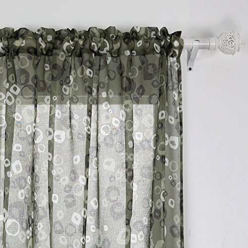 72 Inch Long Pocket Window Curtains: Amazon.com
