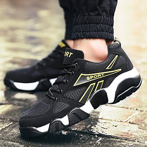 Zapatos deportivos para hombre,Zapatos de basquetbol Yellow