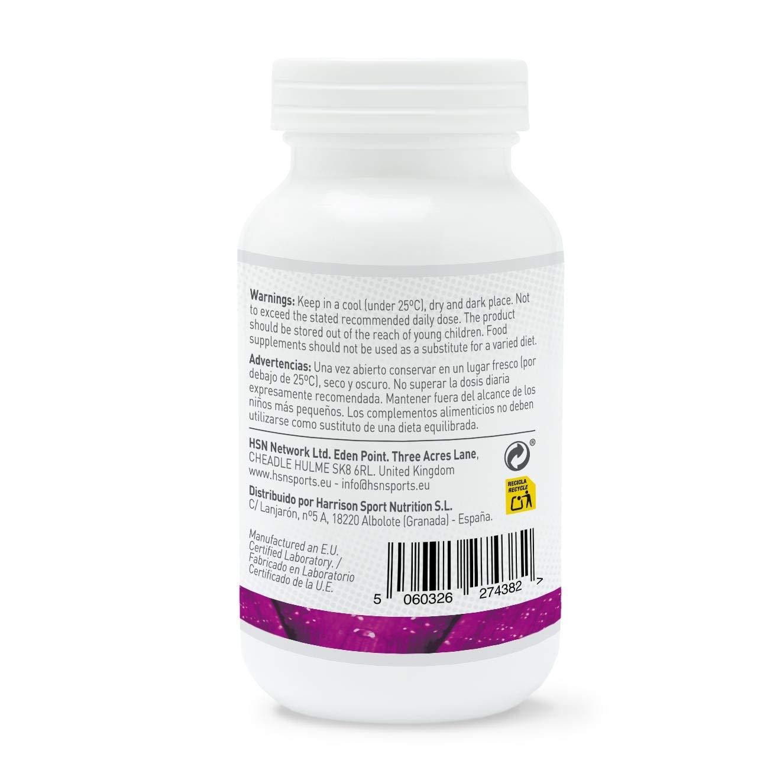 HSN Essentials - Vitamina K2 - 100mcg - Salud Ósea y Cardiovascular - 120 Cápsulas: Amazon.es: Salud y cuidado personal