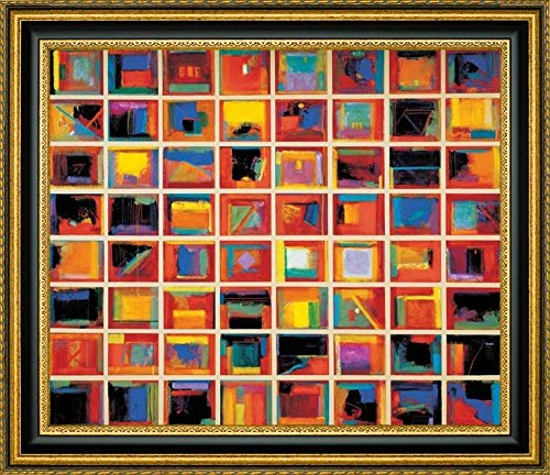64 Abstract Paintings, Oversize by Gary Max Collins - 32.25