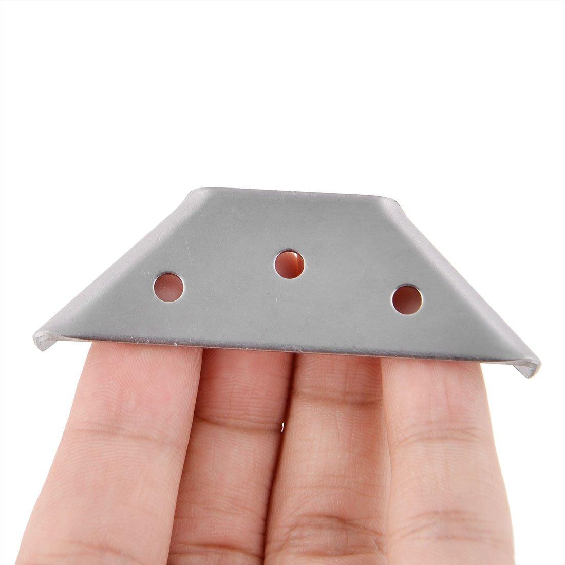 5Stk Edelstahl Kasten Tisch Abdeckung Eckschutz Kantenschutz Winkelhalterung