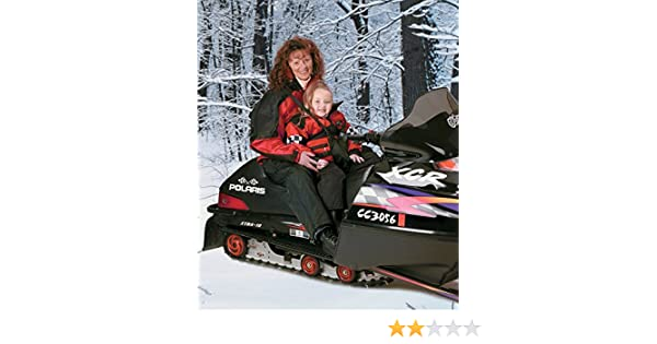 child holding harnes Katahdin ATV SNOWMOBILE KID KARRIER HARNESS kid carrier