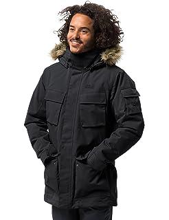 ef9ecd92a Jack Wolfskin Men's Halifax Parka Waterproof Jacket: Amazon.co.uk ...