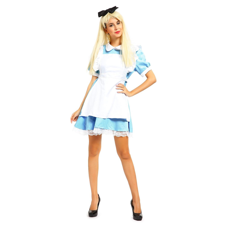 Disfraz de Alicia en el País de las Maravillas, estilo lolita ...