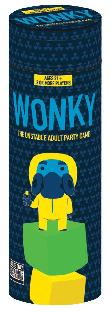USAOPOLY Wonky: The Unstable Adult Party Game, Multicolor