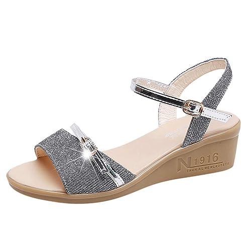 Lacets Dames Femmes Plates Magiyard Sandales shoes Mode 8O0kwnPNX