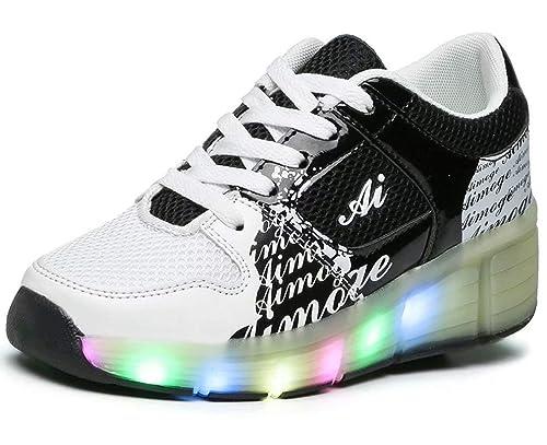 LUOOC - Zapatillas de Sintético para niño, Color Rosa, Talla 40 EU: Amazon.es: Zapatos y complementos