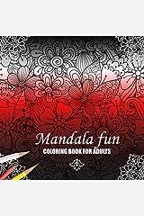 Mandala Pattern Adult Coloring Book (Volume 5) Paperback