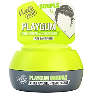 Vivelle chicle Playgum Dop-Cera Crema con vitaminas Estilo Flexible ropa ligera 80 ml