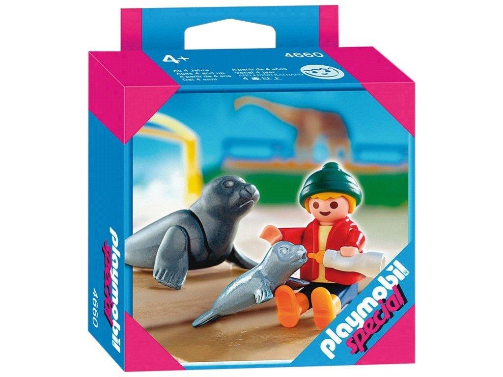 4660 months Phoques Le Zoo Enfant Playmobil