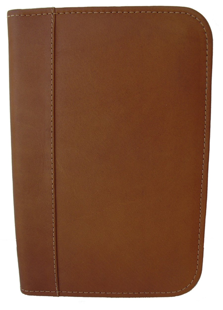 Piel Leather Junior Padfolio, Black, One Size 9230