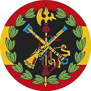 Artimagen Pegatina Círculo España con Logo Legión Color y Laurel ø 50 mm.: Amazon.es: Coche y moto
