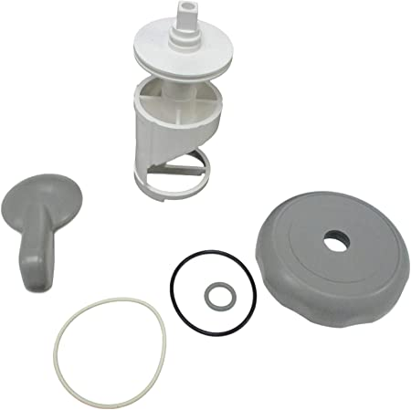 "Diverter Valve 4/"" Kit Sundance® 01-3  Teardrop Knob O-Rings Spas Hot Tub Cap"