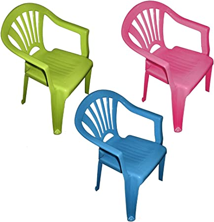 chaise en plastique pour enfant lot