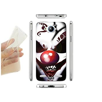FUNDA CARCASA SLIM CLOWN HORROR PARA ZTE BLADE L3 PLUS TPU ...