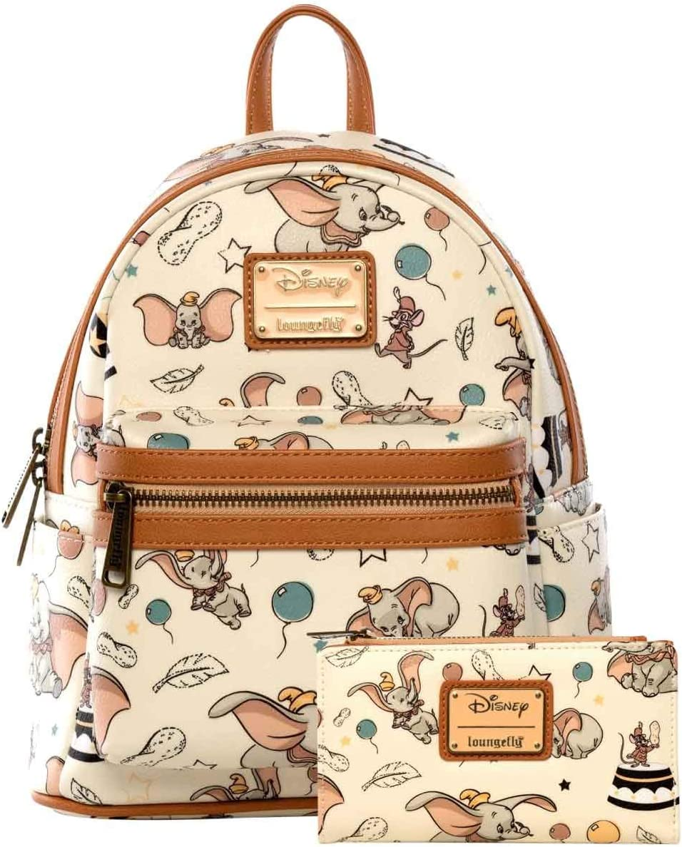 DISNEY DUMBO WHITE BACKPACK NEW!