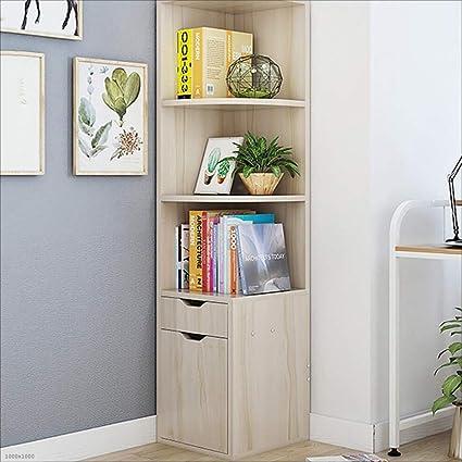 Shelf Estantería Librería Armario de Esquina Gabinete de ...