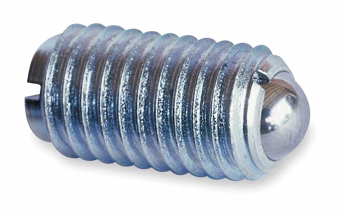 5//8 Ball Steel 3//8-16 Zinc PK5 Plunger