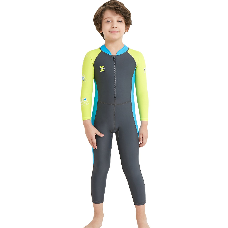 e7f3bcaf0d Gogokids Girls Wetsuit LTD Kids Rash Guard One Piece Diving Snorkelling  Suit SDW Trading Co