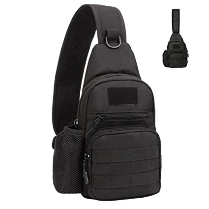 295dde7e1d69 Amazon.com : Lovelynee Tactical Outdoor Shoulder Backpack Military ...