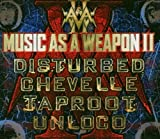 Music as a Weapon II (CD & DVD) by Disturbed, Chevelle, Taproot, Unloco [Music CD]