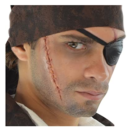 e8128d426cd Amazon.com  Loftus International Deluxe Pirate Scar   Eyepatch ...