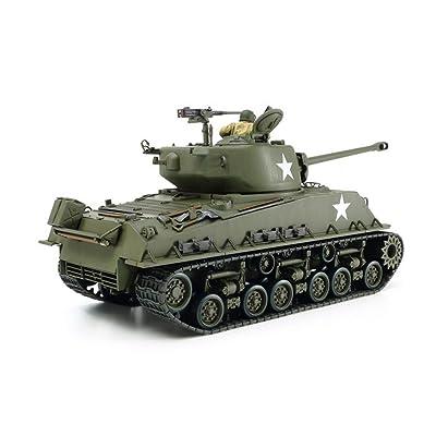 Tamiya 35346 1/35 US Medium Tank M4A3E8 Sherman Plastic Model Kit: Toys & Games